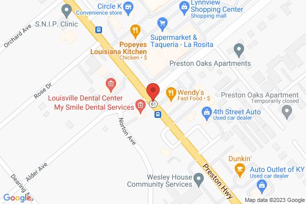 Mapped location of La Rosita Taqueria