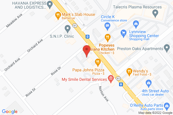 Mapped location of The Godfather Bourbon & Burlesque