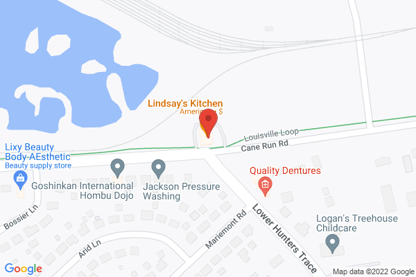 Mapped location of Lindsay's Kitchen