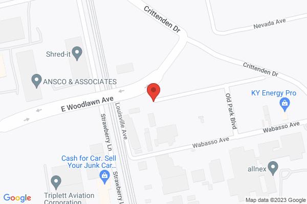 Mapped location of Annie Café