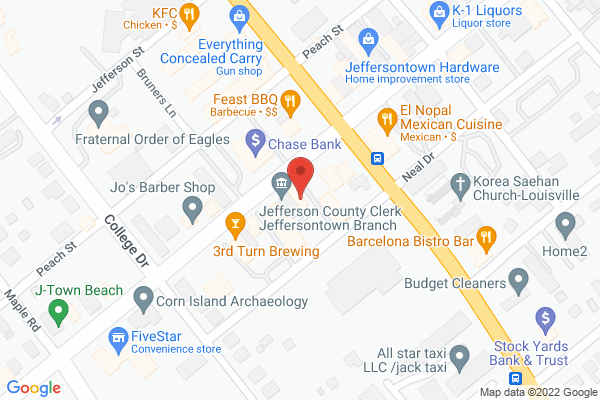 Mapped location of Triangle Talent, LLC