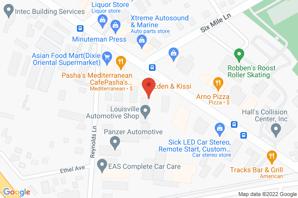 Mapped location of Arno's Pizza
