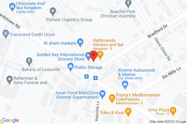 Mapped location of Jasmin Bakery