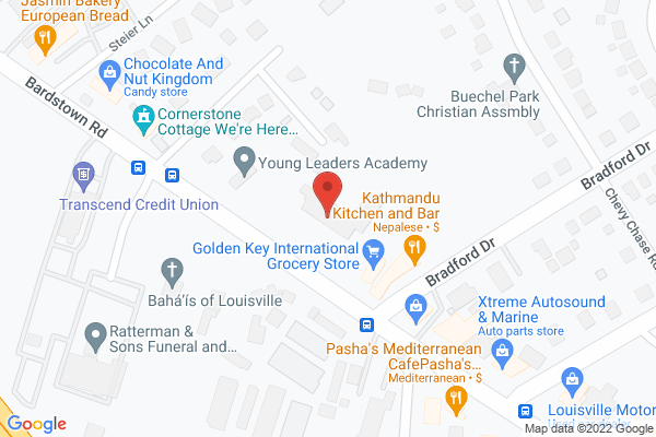 Mapped location of Derby City Antique Mall