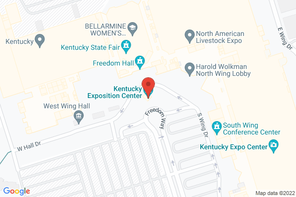 Mapped location of Kentucky Flea Market New Years Spectacular 2021