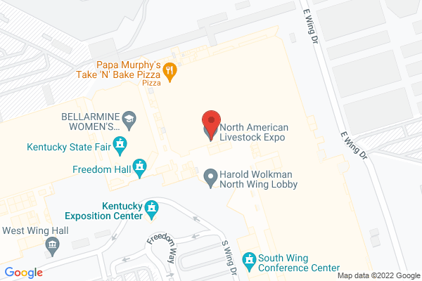 Mapped location of Louder Than Life