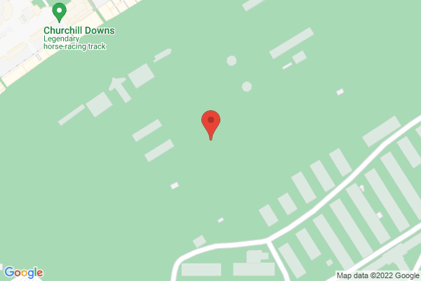 Mapped location of Churchill Downs Bugler