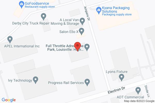Mapped location of Full Throttle Adrenaline Park