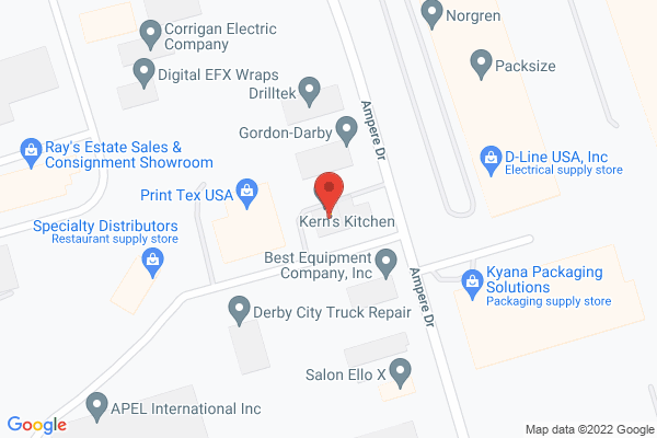 Mapped location of Derby Pie Company dba Kern's Kitchen, Inc.