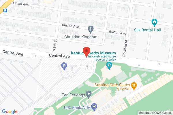 Mapped location of Matt Winn's Steakhouse