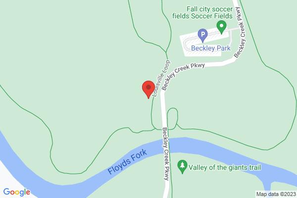 Mapped location of Louisville Marathon, Half Marathon, & 10k