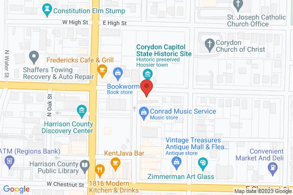 Mapped location of Winter Wine Walk