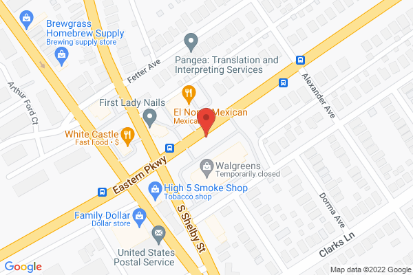 Mapped location of Domino's Pizza