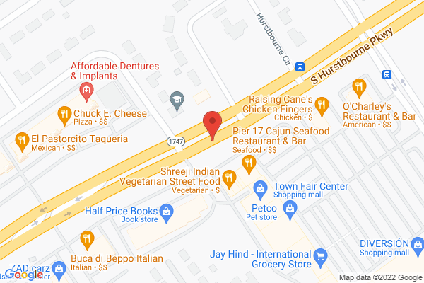 Mapped location of Gigi's Cupcakes