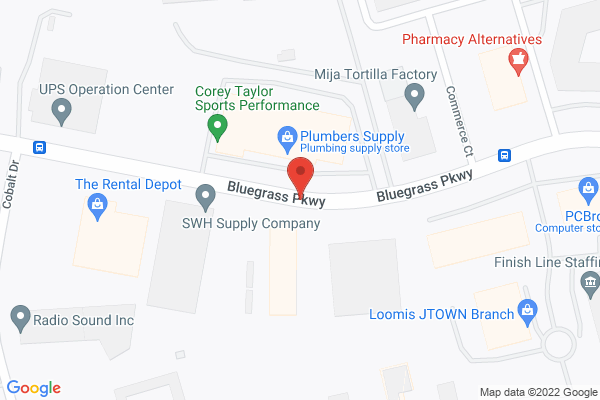 Mapped location of PartyZone! Productions