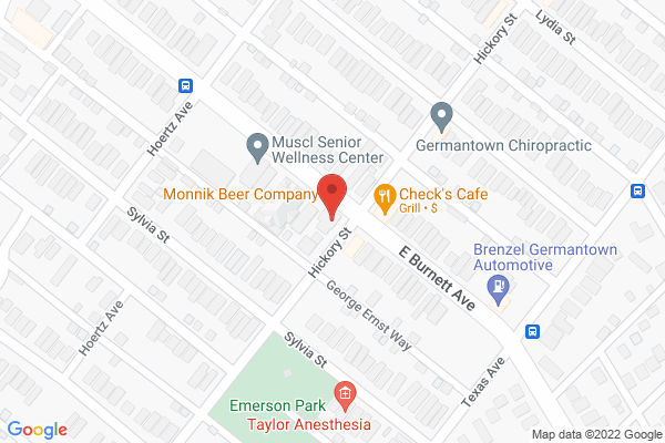 Mapped location of Monnik Beer Co.