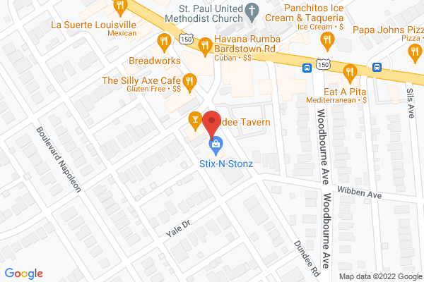 Mapped location of Lucky Cat Cafe