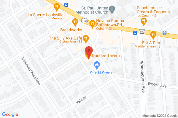 Mapped location of Dundee Gastropub