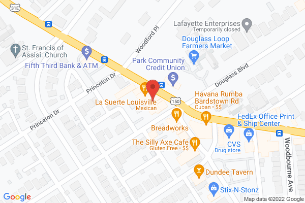 Mapped location of Great Flood Brewing