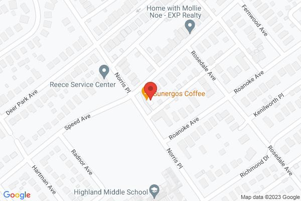 Mapped location of Sunergos Coffee Highlands