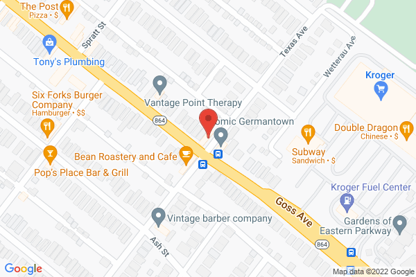 Mapped location of The Pearl