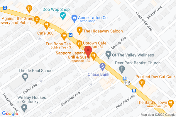 Mapped location of SuperChefs