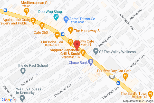 Mapped location of Wild Ginger Sushi & Fusion