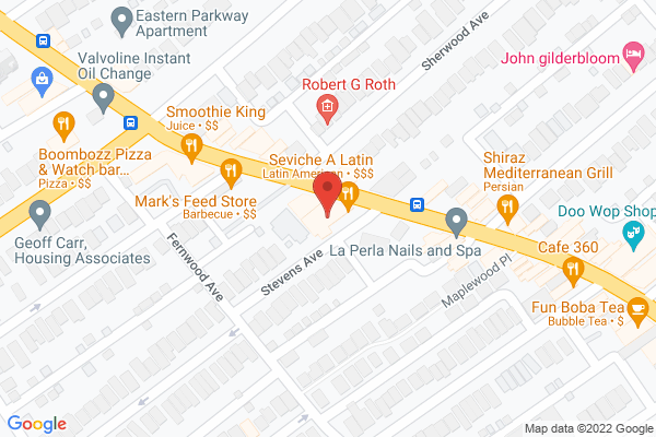 Mapped location of Seviche - A Latin Restaurant