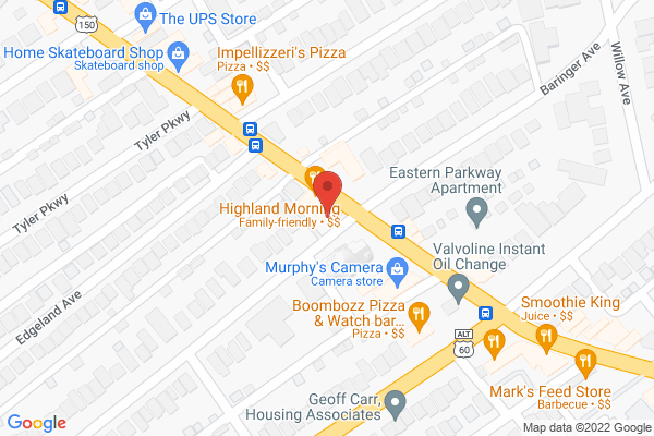 Mapped location of Edenside Gallery
