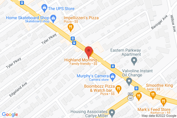 Mapped location of Highland Morning