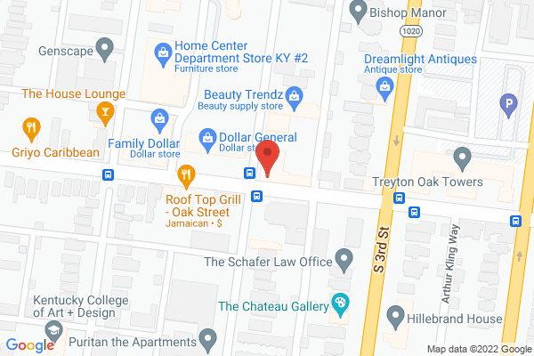 Mapped location of A Taste of China