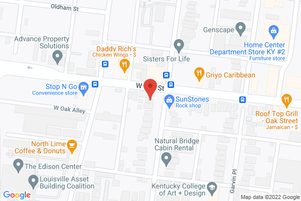 Mapped location of Garvin Gate Blues Festival