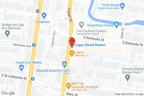 Mapped location of Billy's Chili Sandwiches