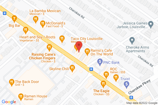 Mapped location of Joy Luck, The