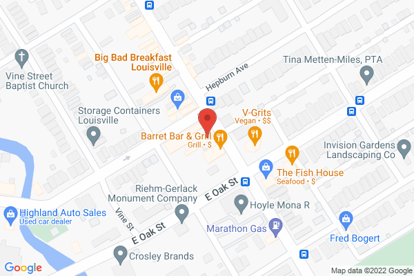 Mapped location of Sultra's Vegan Kitchen