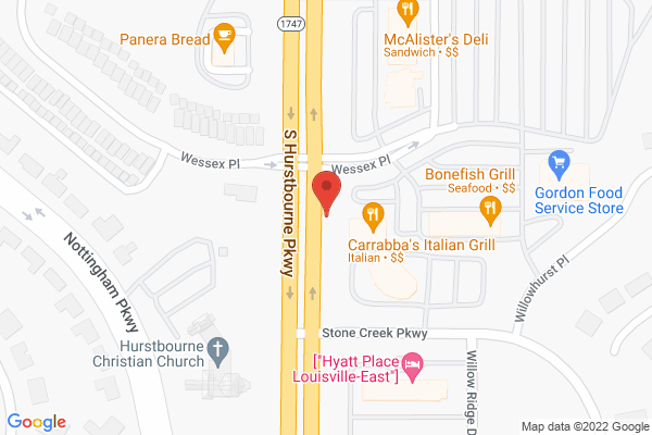 Mapped location of Bonefish Grill