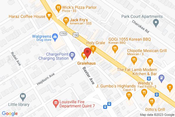 Mapped location of Gralehaus