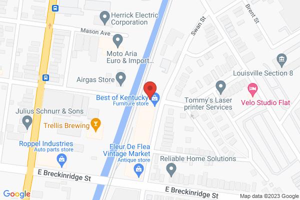 Mapped location of Fleur de Flea Vintage Urban Markets