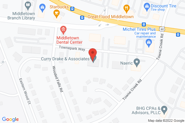 Mapped location of AD-RACK