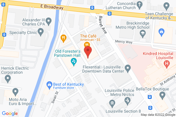 Mapped location of Stoneware & Co.
