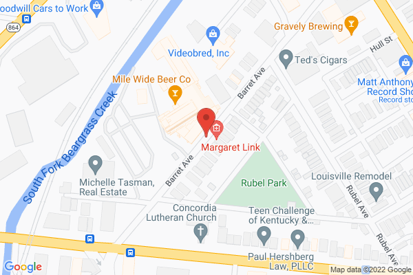 Mapped location of Mile Wide Beer Co.