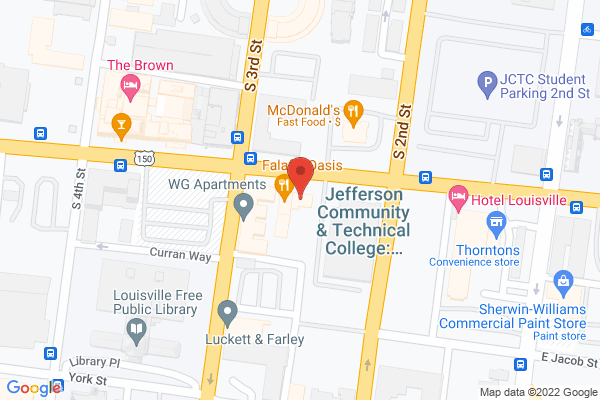 Mapped location of Ada's Kitchen and Catering