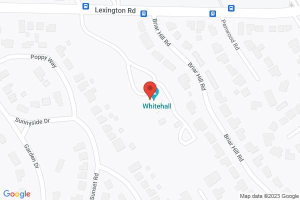 Mapped location of Whitehall Louisville's Estate Garden