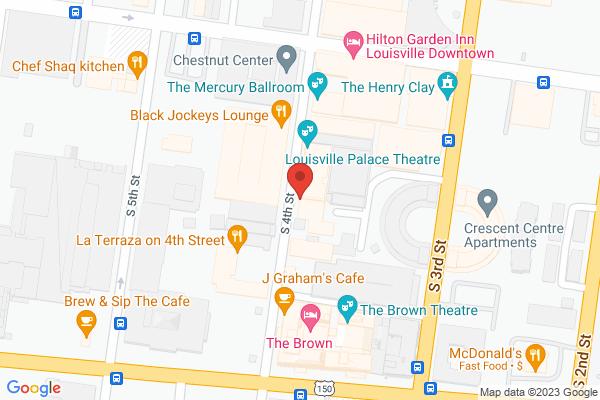 Mapped location of Safier Mediterranean Deli