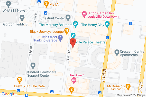 Mapped location of Art Eatables