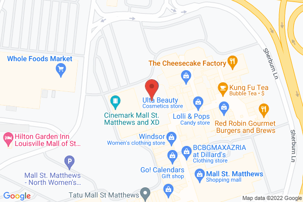 Mapped location of Dave & Buster's