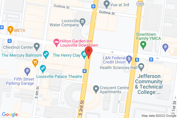 Mapped location of Henry Clay Event Center, The