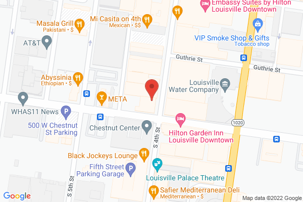 Mapped location of Beaded Treasures