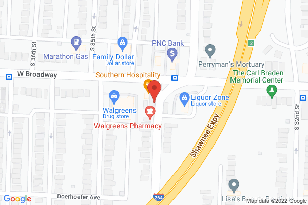 Mapped location of Roof Top Grill