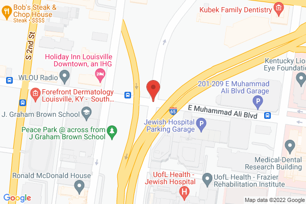 Mapped location of Bandy Carroll Hellige Advertising